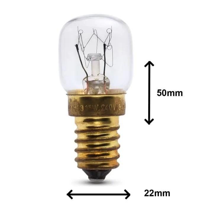 lampe de four 15w pour usage dans un four beko 240v resistante a la chaleur jusqu a 300 ampoule pour cuisiniere ses e14 petit