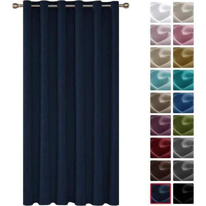 oeillets rideau occultant isolant thermique rideau