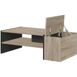 table basse table en bois ronde ou