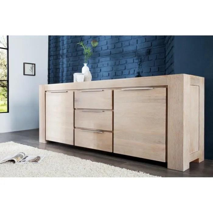 enfilade design sosh bois clair achat