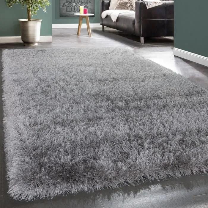 shaggy poils hauts tapis moderne doux fils brillan