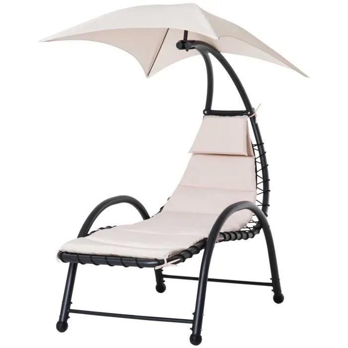 bain de soleil design contemporain avec pare solei