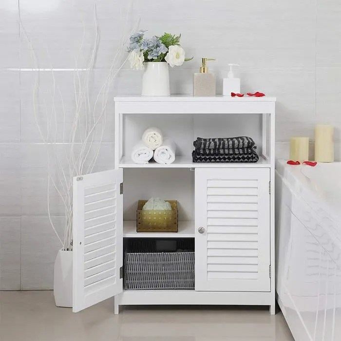 meuble bas de salle de bain armoire de rangement t