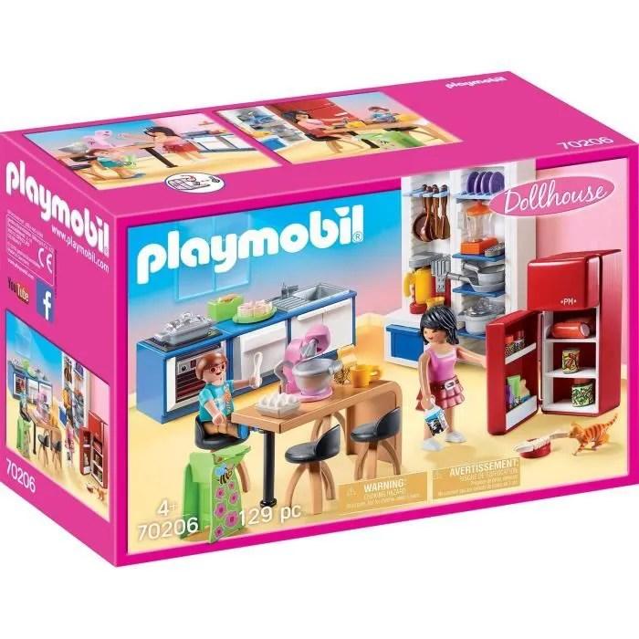 playmobil 70206 dollhouse la maison traditionnelle cuisine familiale