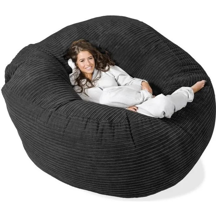 lounge pug canape pouf geant grande mammouth
