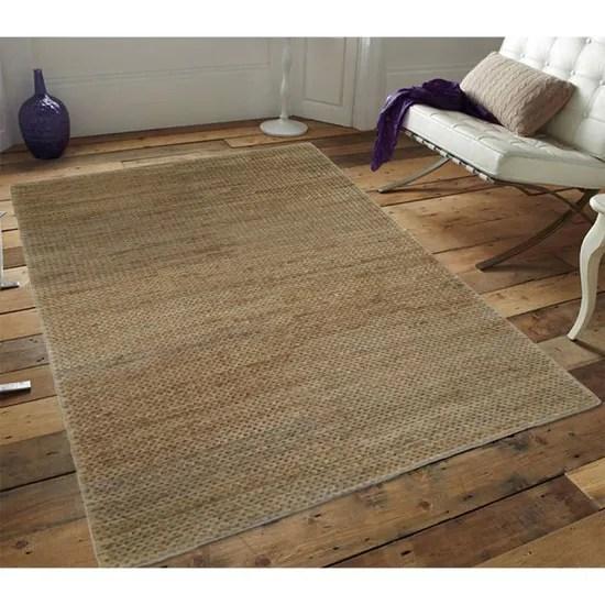 tressage tapis jute beige 160x230