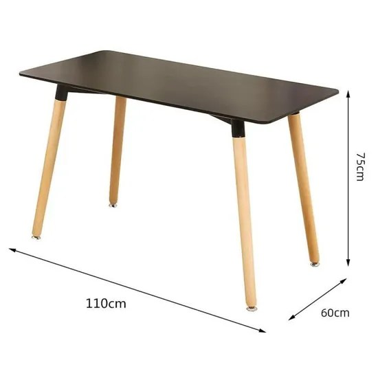 hek table a manger rectangulaire de 4 a