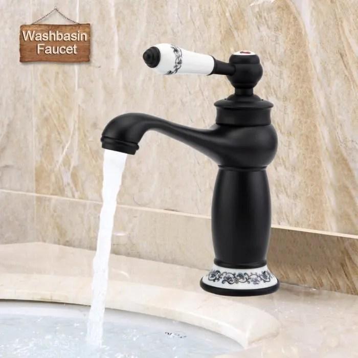robinet de lavabo retro mitigeur pour