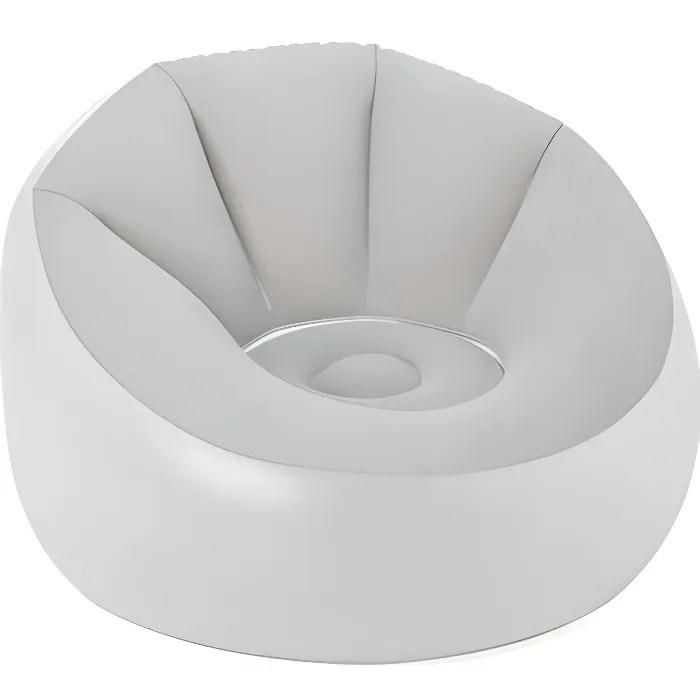 bestway fauteuil gonflable rond avec