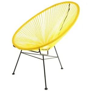 chaise fil plastique