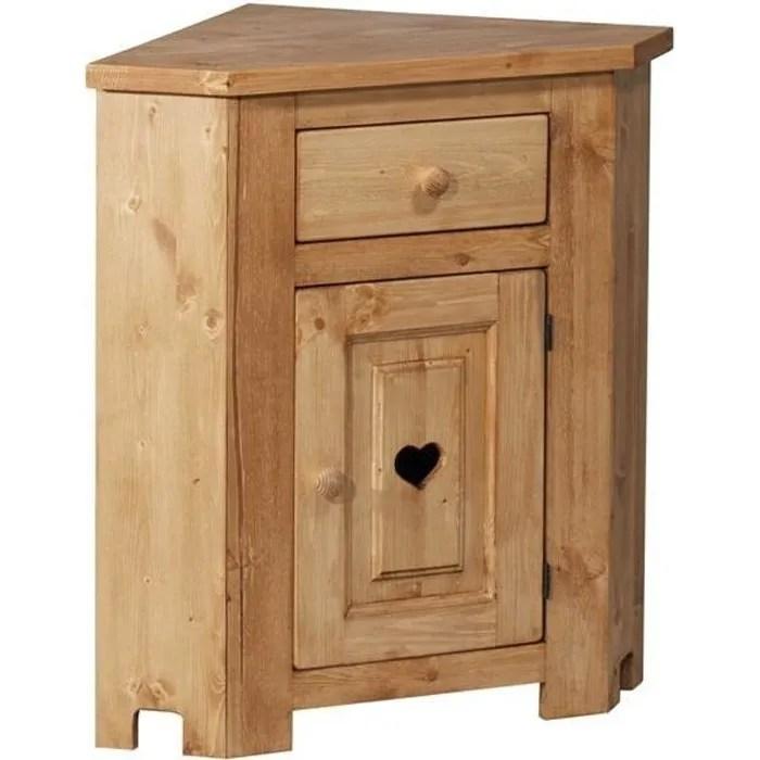 meuble bas d angle avec coeur 1 porte