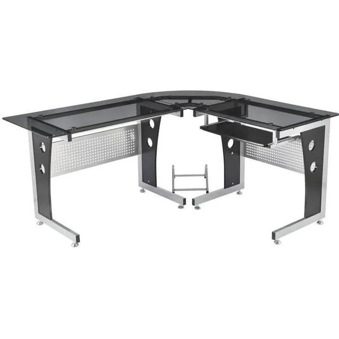 bureau d informatique angle pour ordinateur meuble