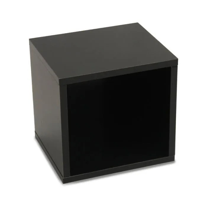correspond a se blottir jardin etagere cube noir