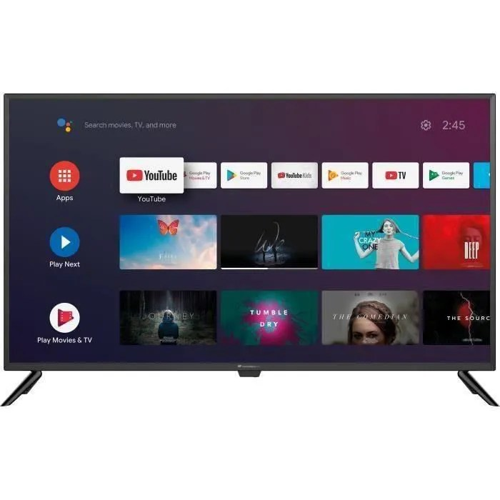 continental edison android tv 42 105 4 cm andro