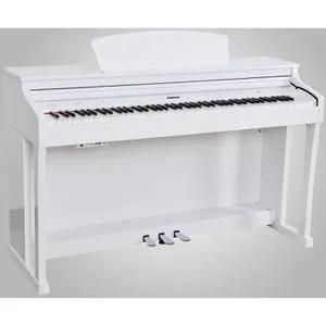 piano droit blanc cdiscount