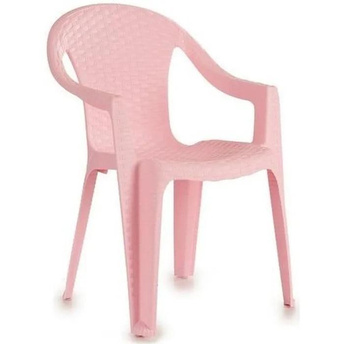 chaise pour enfant pincello plastique 37 x 51 5 x 37 5 cm
