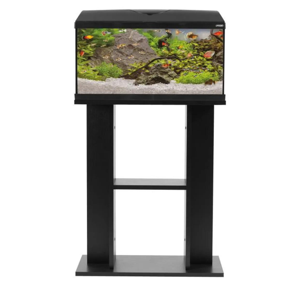 meuble aquarium first 60cm noir zolux