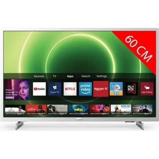 tv led full hd 60 cm 24pfs6855