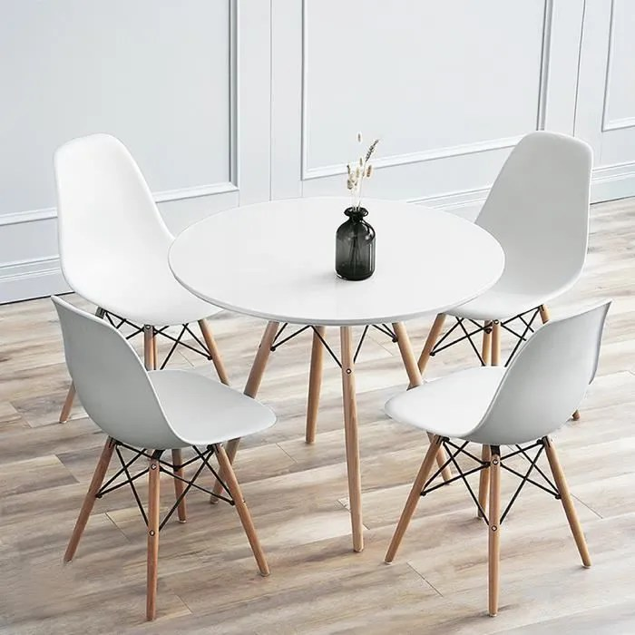 table ronde extensible bois