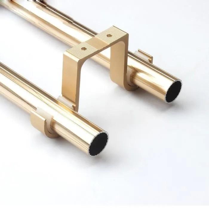 n 1 alliage d aluminium double pole plafond supports de tringle a rideau romain tringle a rideau accessoires lot de 4 pcs 28 33mm