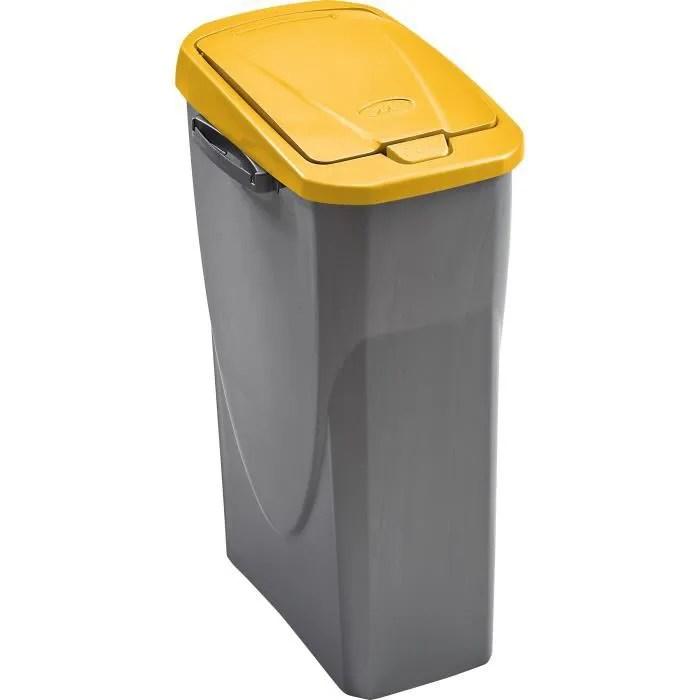 fond de poubelle 25 l pour couvercle jaune