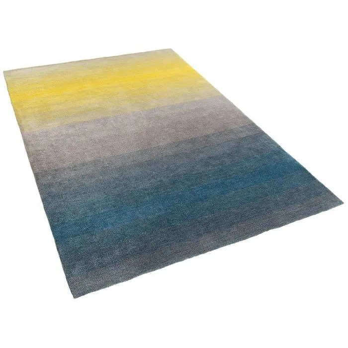 tapis rectangulaire shaggy 160x230 cm