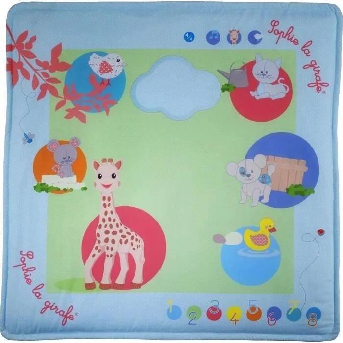 sophie la girafe touch play mat