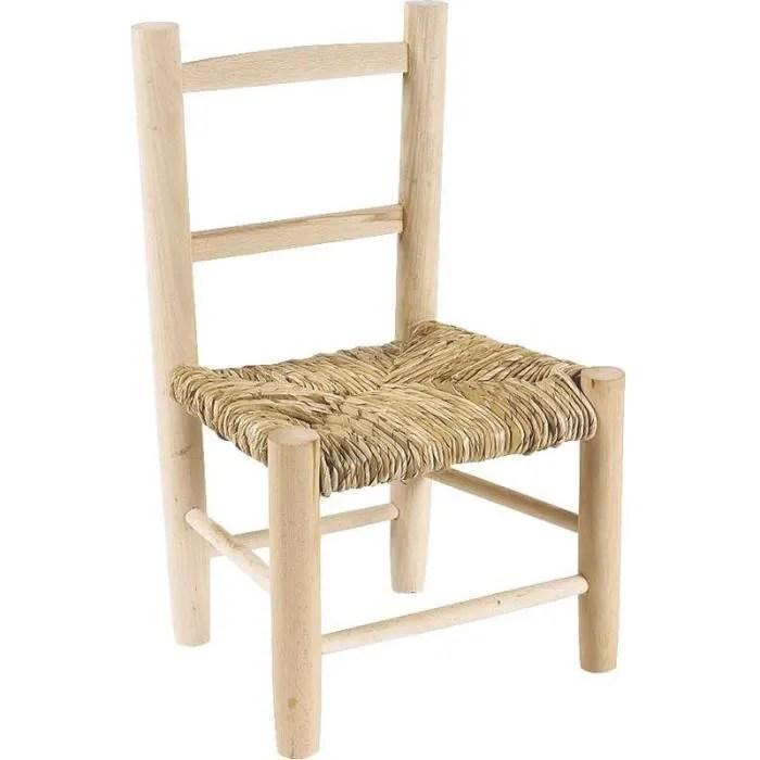 petite chaise bois pour enfant achat