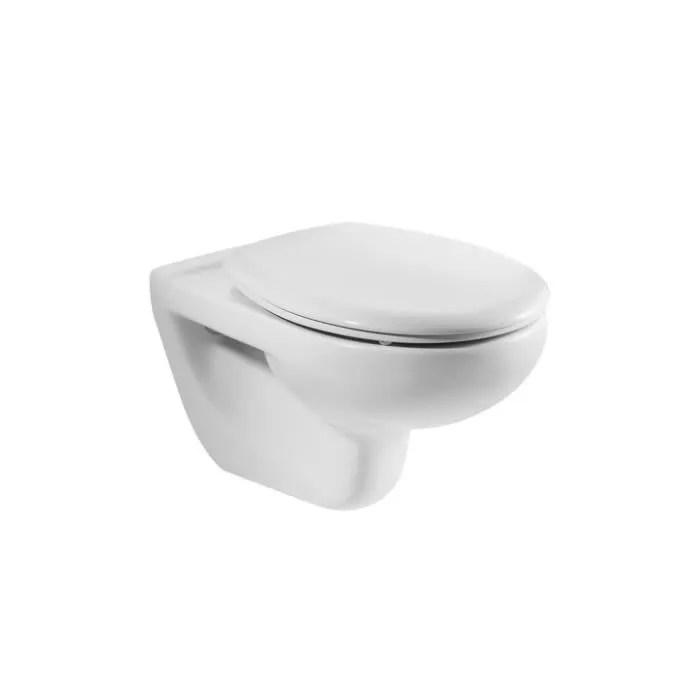 cuvette wc nue suspendue roca victoria blanc