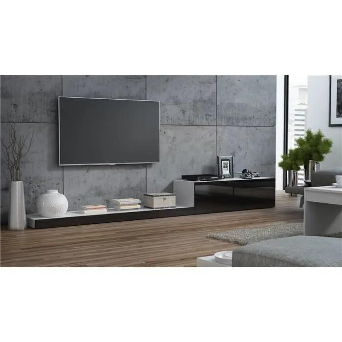 ensemble meuble tv design lime ii