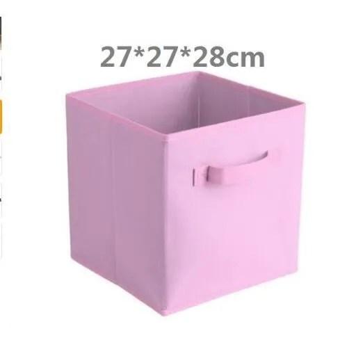 pliable tissu rangement cube boite de rangement articles divers bac de rangement pliable tissu organisateur paniers pliant c