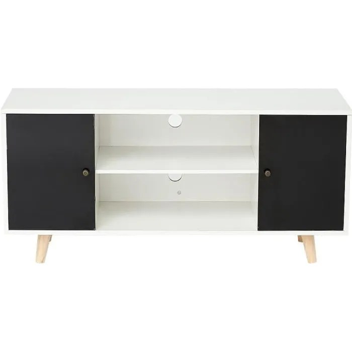 meuble tv scandinave pour salon chambre