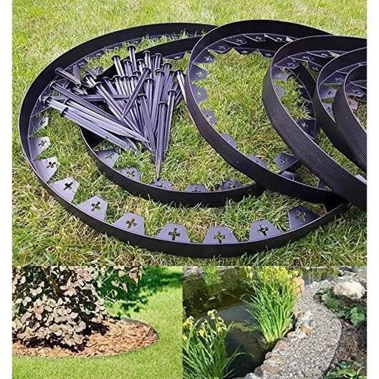 https www cdiscount com jardin cloture bordure de jardin en plastique flexible noir 10 me f 163220202 auc9145452042121 html