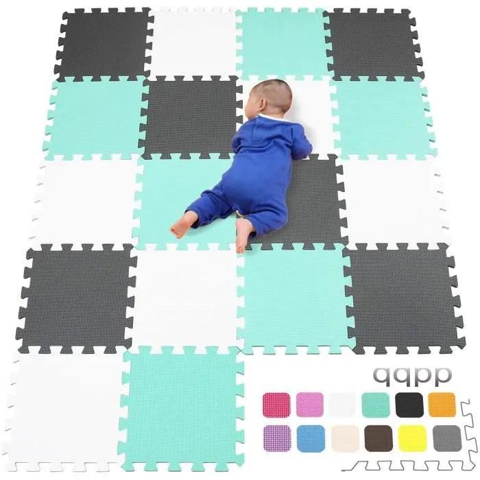 qqpp eva puzzle tapis mousse bebe ideal pour les