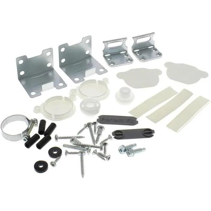 kit fixation d habillage de porte pour lave vaisselle ikea 3665392130123