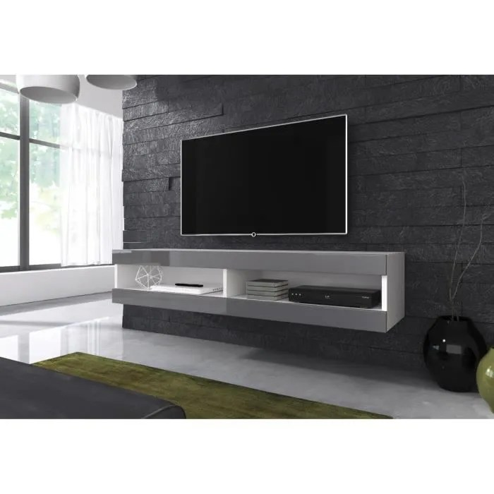 meuble tv suspendu 120