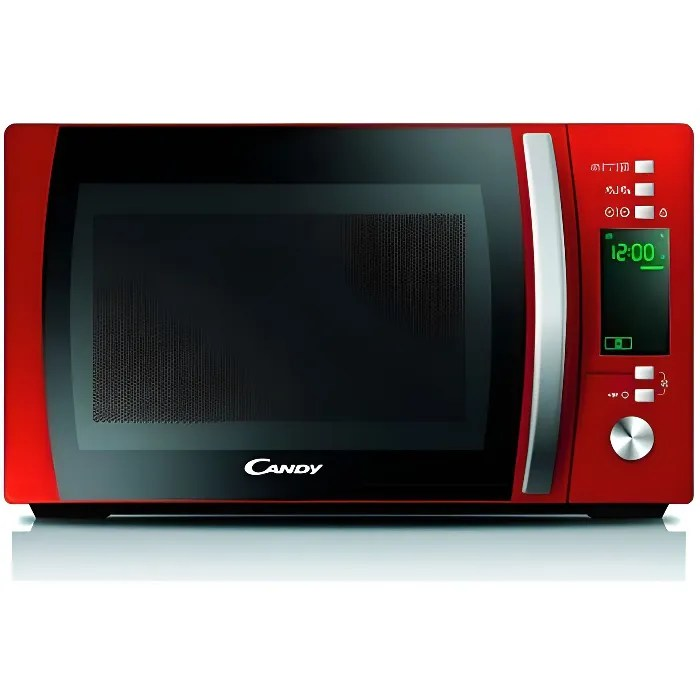 candy cmxg20dr micro ondes gril 20l 1000w rouge pose libre