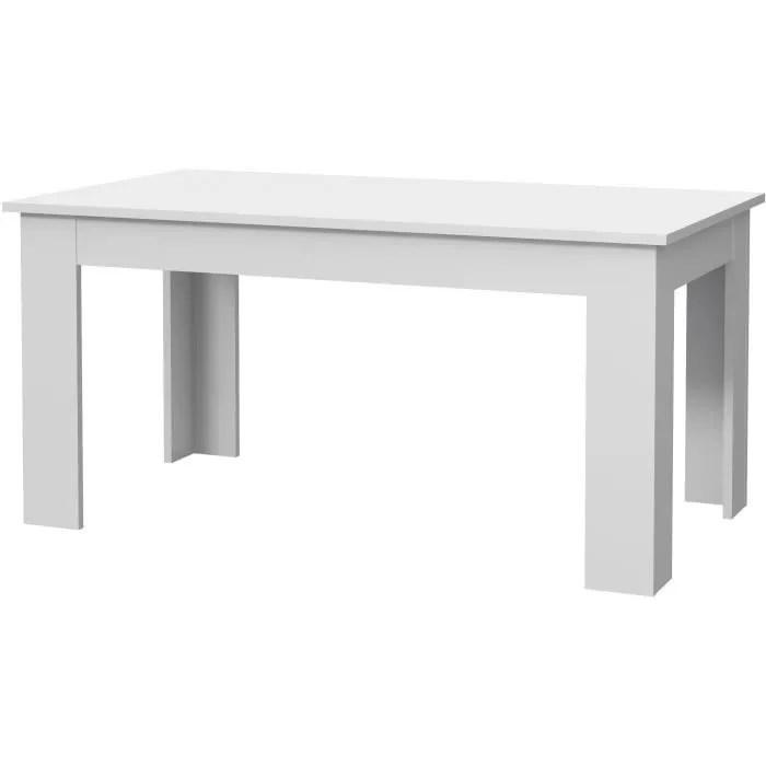 table a manger grise et blanche