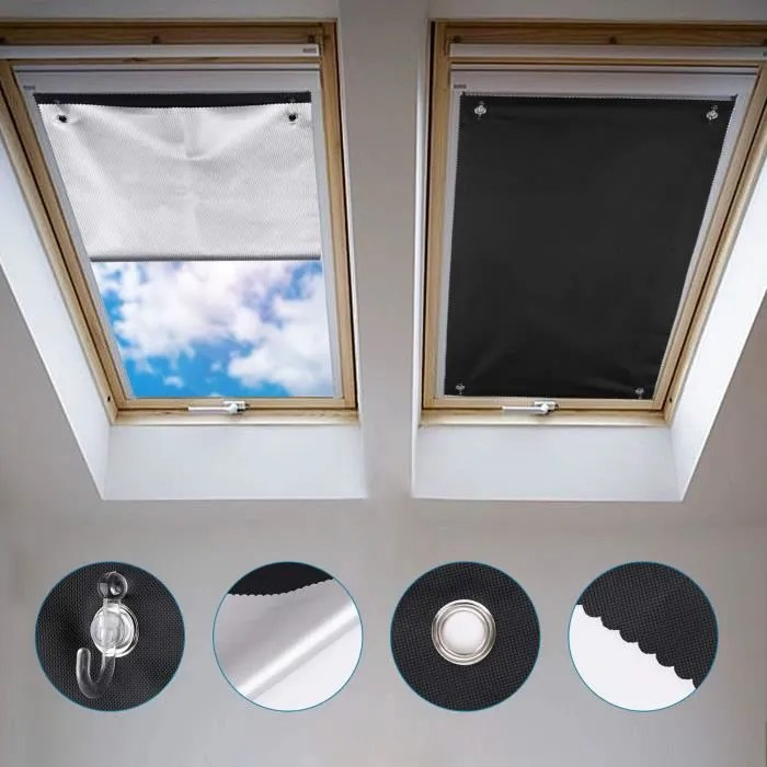 johgee store occultant sans percage pour velux ggl