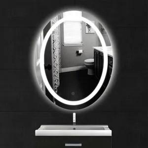 miroir rond led 60 cm