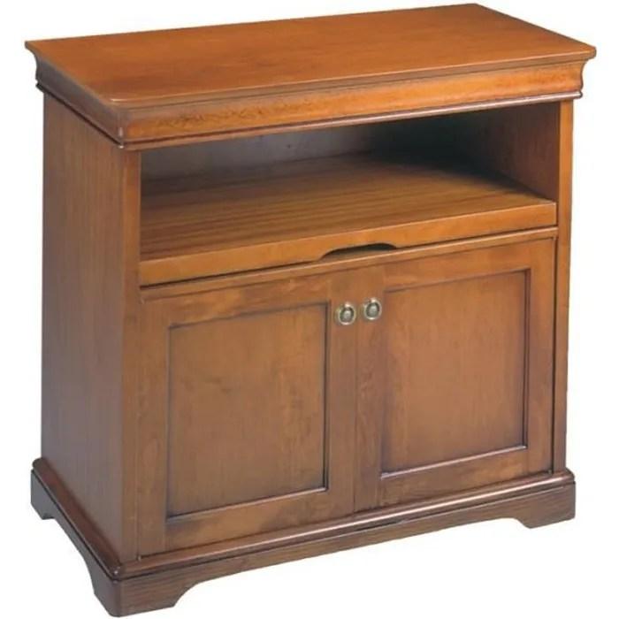 meuble tv 2 portes penelope l 86 x l 46 x h 80
