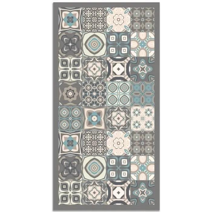 panorama tapis du sol vinyle carreaux de ciments