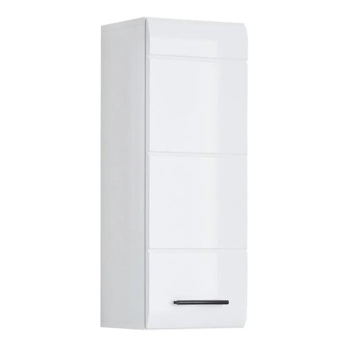 Meuble Haut Salle De De Bain Skin Blanc Brilliant Achat Vente Armoire De Toilette Meuble Haut Salle De De Bai Soldes Sur Cdiscount Des Le 20 Janvier Cdiscount