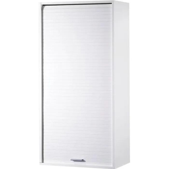 meuble de rangement de cuisine grand blanc dino l 60 x l 35 x h 123 6 cm