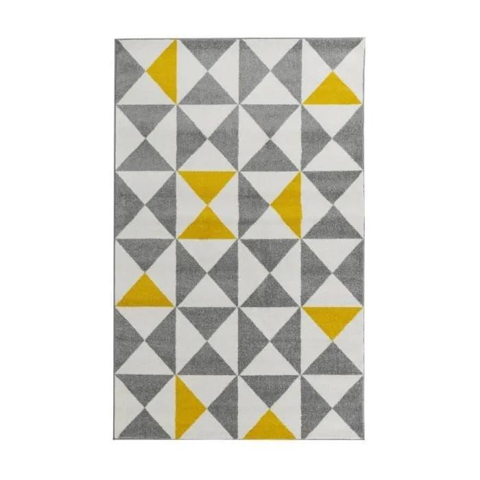 abdomen traiteur sauvegarde tapis jaune et gris pas cher