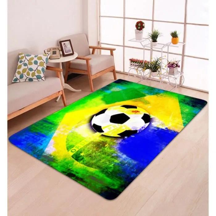 flannel football a motifs tapis de sol tapis salon