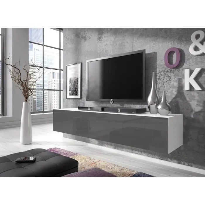 meuble tv 160 cm hauteur 55 cm