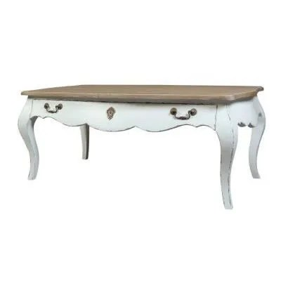 table basse baroque blanche achat