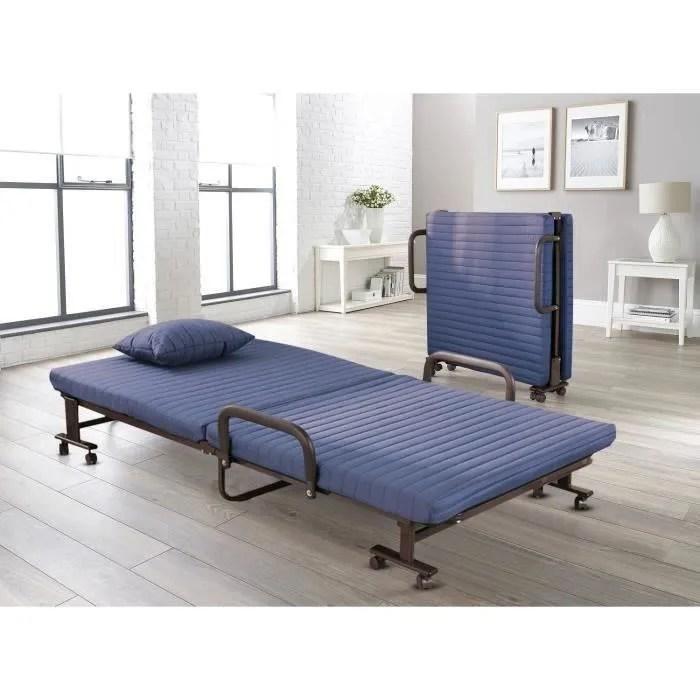 lit pliant avec matelas mousse lit d