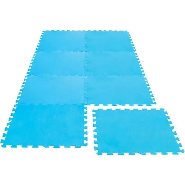 tapis dalles de protection en mousse pour piscin